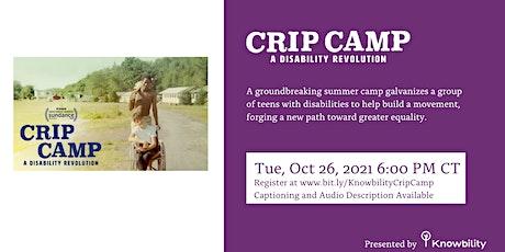 Crip Camp Community Screening tickets