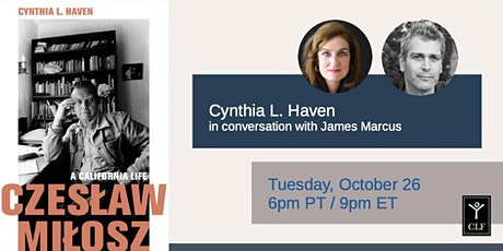 Cynthia L. Haven in conversation with James Marcus tickets