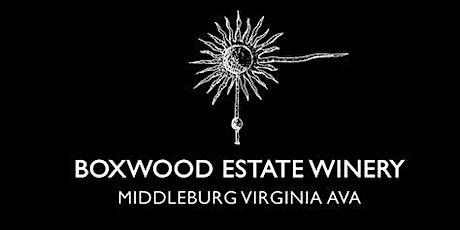 Boxwood Winery Tasting tickets