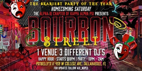 Bourbon Street 2K21 tickets
