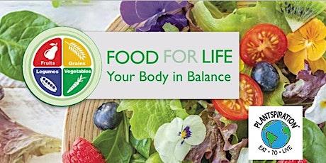 Plantspiration® Virtual Nutrition Edu & Cooking Class Avoiding Chemicals tickets