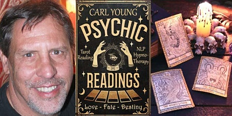 Tarot Reading, NLP/Hypnotherapy with Carl Young-Ipso Facto- Sunday, Oct. 31 tickets