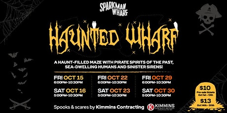 Haunted Wharf tickets