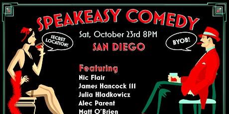 Speakeasy Comedy in San Diego tickets