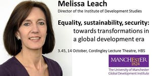 Equality, sustainability, security: towards...