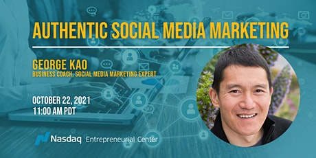 Authentic Social Media Marketing with George Kao tickets