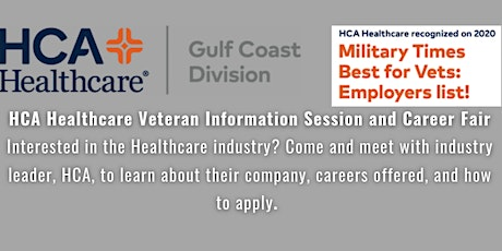 HCA Healthcare Veteran Information Session and Career Fair tickets