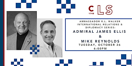 Admiral James Ellis In Conversation with Mike Reynolds tickets