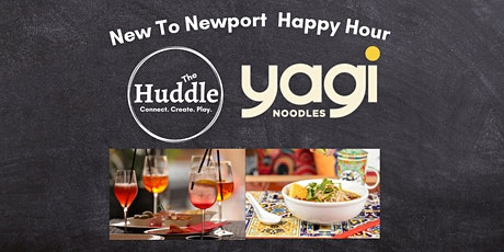 New to Newport Happy Hour @ Yagi Noodles tickets