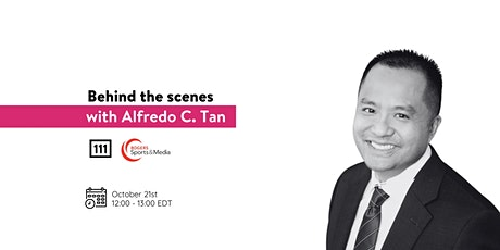 Behind the scenes with Alfredo C. Tan from Rogers Sports & Media tickets