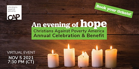 An Evening of Hope - CAP America Annual Celebration Virtual Event tickets