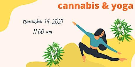 Hazy Sunday - Cannabis Yoga Class at Di Luna Yoga and Wellness tickets
