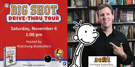 Jeff Kinney's Big Shot Drive Thru Book Tour tickets