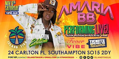 Amaria BB Live! Island Ting (Southampton) tickets