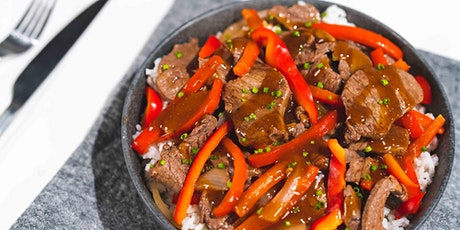 Easy Pepper Steak: FREE Virtual Cooking Class tickets