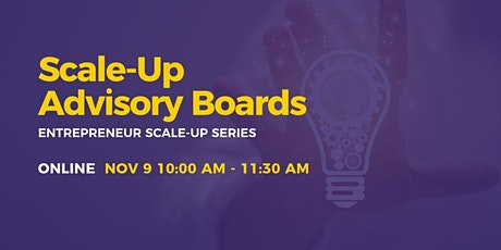 Scale-Up: Advisory Boards tickets