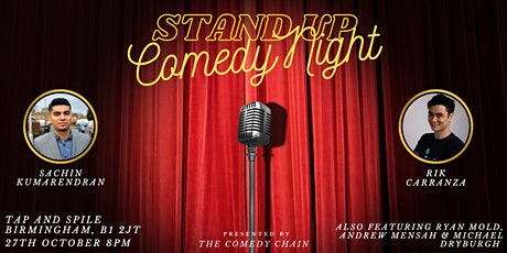 Stand Up Comedy Night @ Tap and Spile Birmingham tickets