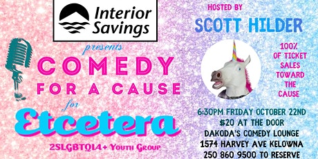 Interior Savings presents Comedy for a Cause for Ecetera Youth Group tickets