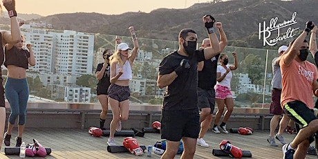 Sunset Boxing Class at The Hollywood Roosevelt tickets