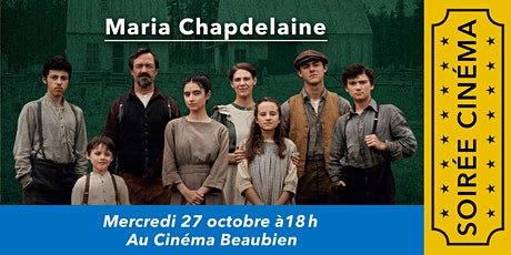 Soirée cinéma: Maria Chapdelaine billets