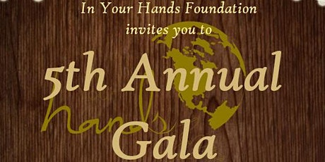 In Your Hands Fifth Annual Gala Dinner tickets