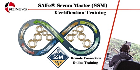 SAFe Scrum Master (5.0) - SSM certification from Scaled  Agile tickets
