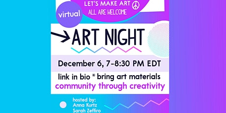 Art Night,  December 6 tickets