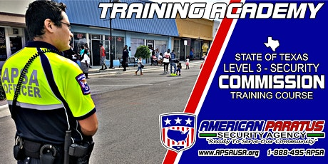TX Level 3 - Security Commission Training Course (Killeen, TX) tickets