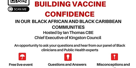 Building Vaccine Confidence - Black African and Black Caribbean Communities tickets