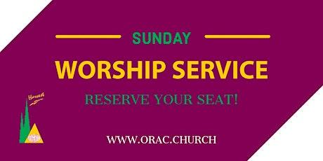 Sunday Worship Service - October 17th tickets