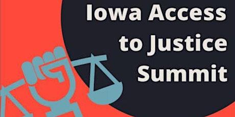 Iowa Access to Justice Summit tickets