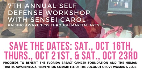 7th Annual Streets Smarts Ultimate Self-Defense Workshop with Sensei Carol tickets