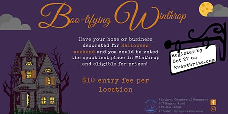 BOO-tifying Winthrop- A Halloween House Decorating Contest tickets