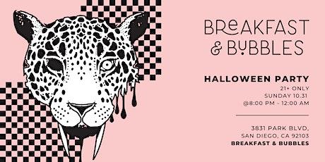 Breakfast + Bubbles Halloween Party tickets