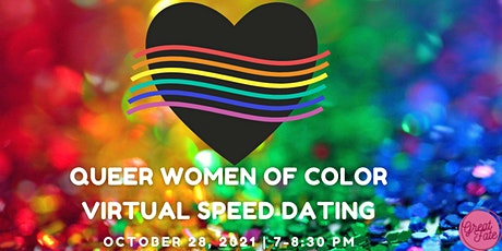 Queer Women of Color Virtual Speeddating tickets