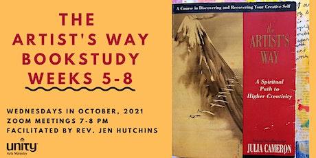 The Artist's Way Bookstudy Weeks 5-8 tickets