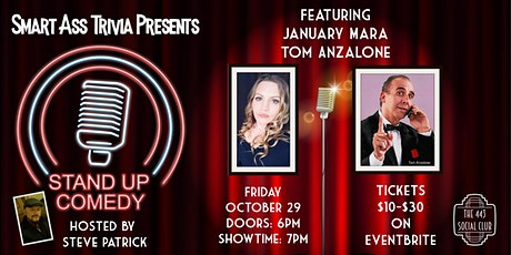 Smart Ass Trivia Presents: Stand-up Comedy Night at the 443 tickets