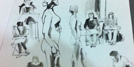 in-person life drawing Oct 22nd- untaught tickets