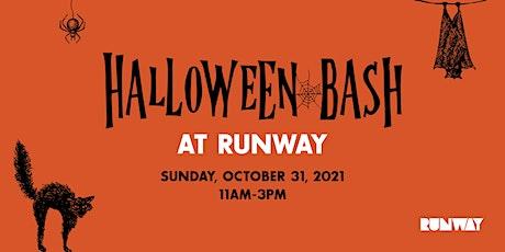 Halloween Bash at RUNWAY tickets