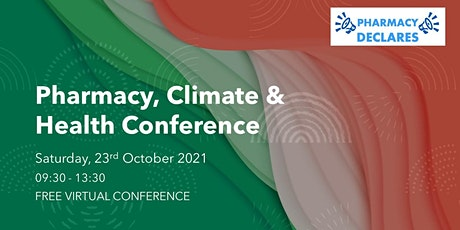 Pharmacy, Climate and Health Conference tickets