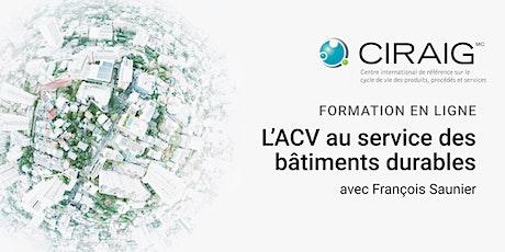 L'ACV au service des bâtiments durables billets
