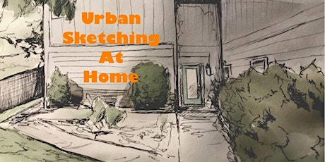 Urban Sketching at Home tickets