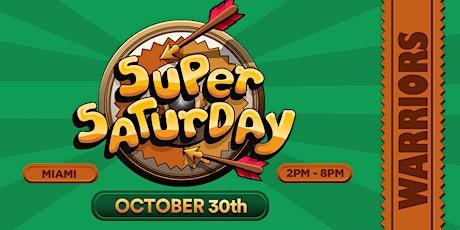 Super Saturday Warriors tickets