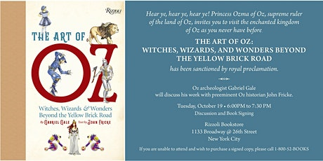 THE ART OF OZ BY GABRIEL GALE- IN PERSON EVENT tickets