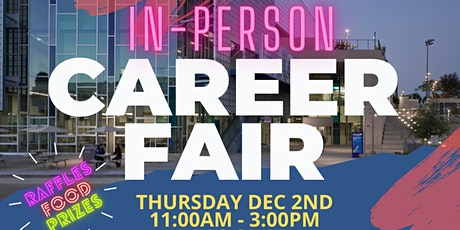 Los Angeles City College 2021 Fall  IN-PERSON Career Fair (Employer Reg) tickets