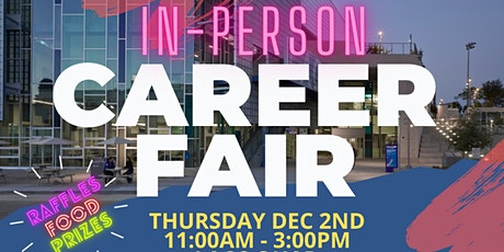 FALL 2021 CAREER FAIR (In-Person ) STUDENT REGISTRATION tickets