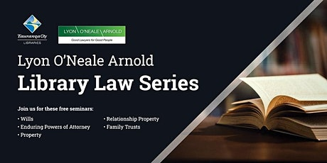 Lyon O'Neale Arnold Library Law Series - Wills and Trusts tickets