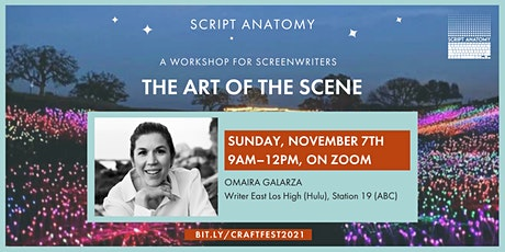 SCREENWRITING CRAFT FESTIVAL – THE ART OF THE SCENE tickets