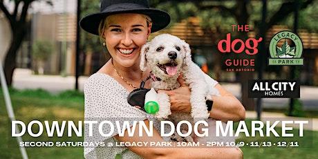 Downtown Dog Market tickets