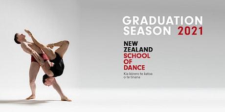New Zealand School of Dance Graduation Season 2021 (Wellington) tickets